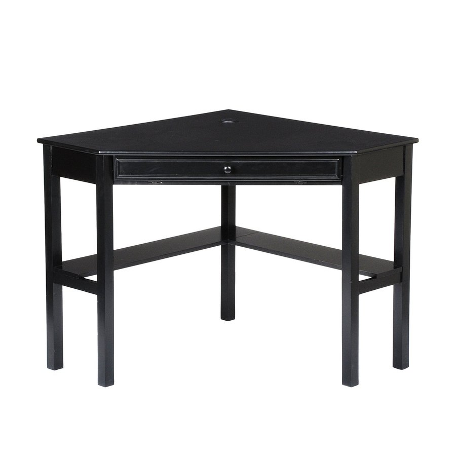 Boston Loft Furnishings Alcott Black Corner Desk