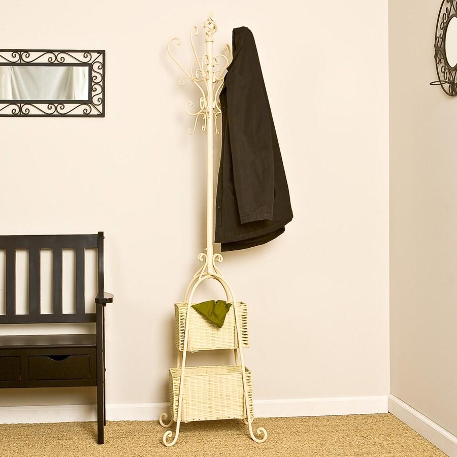 Boston Loft Furnishings Ivory 12-Hook Coat Stand