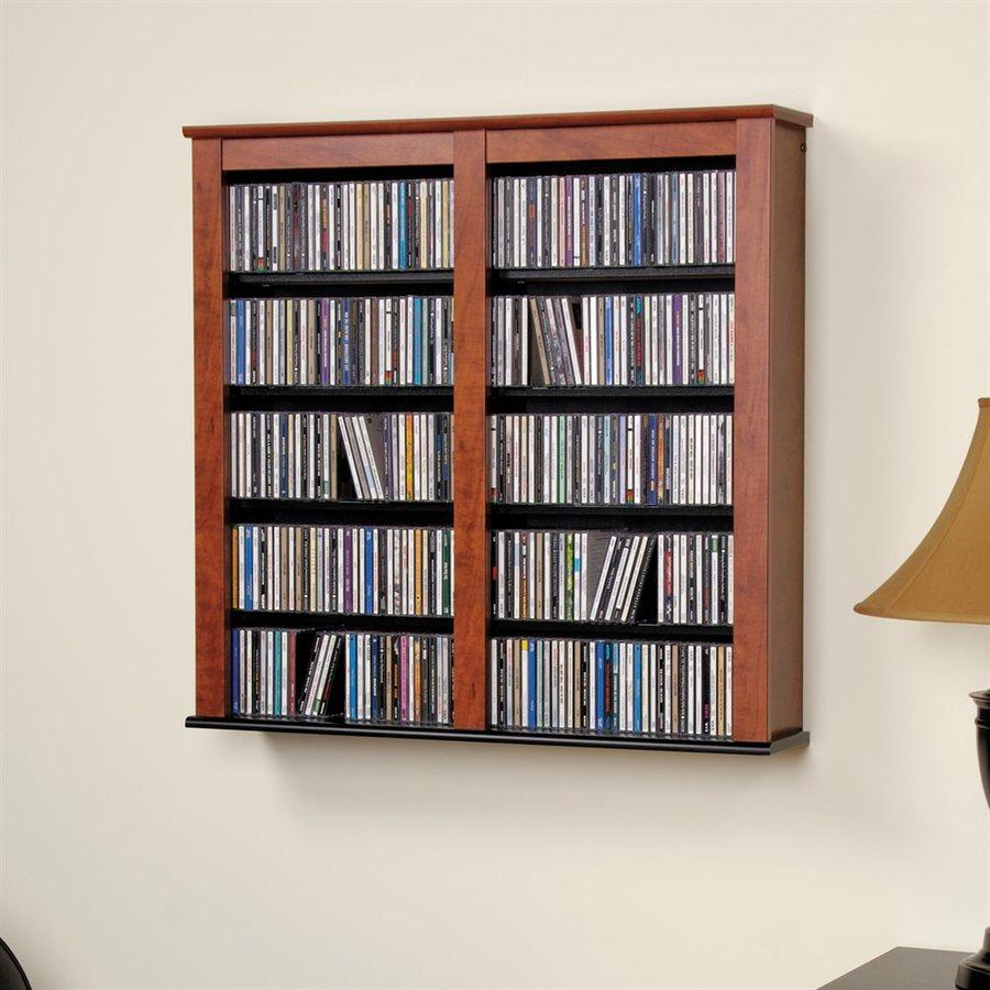 Prepac Furniture Cherry Multimedia Storage Unit