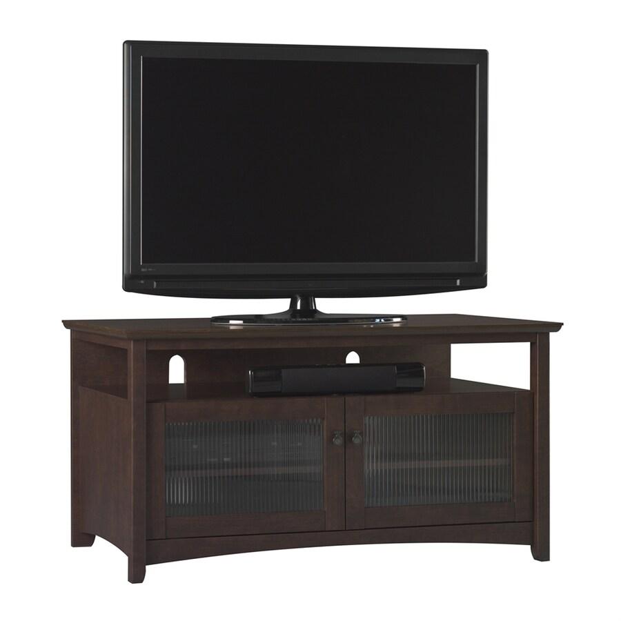 Bush Furniture Buena Vista Madison Cherry Rectangular Television Cabinet