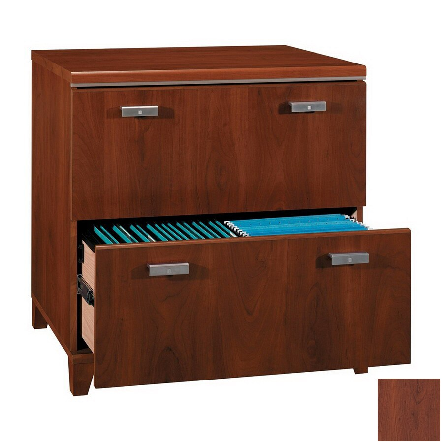 Bush Furniture Tuxedo Hansen Cherry 2-Drawer File Cabinet