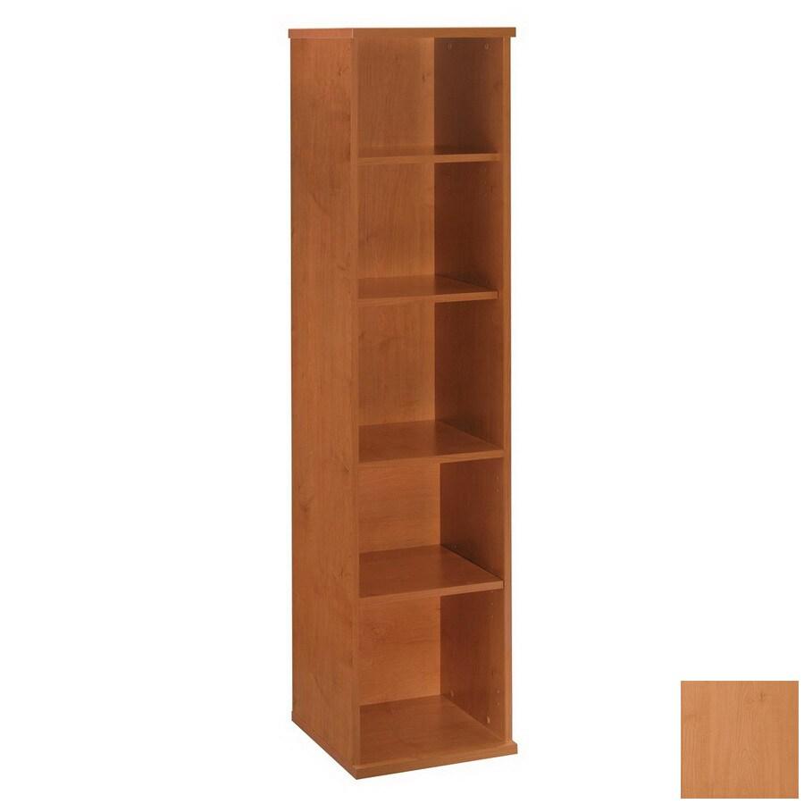Bush Furniture Series C Natural Cherry 72.83-in 5-Shelf Bookcase