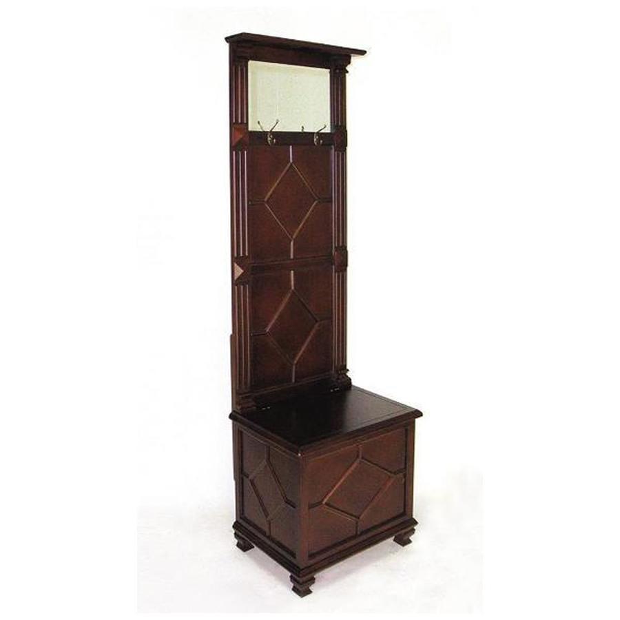 Wayborn Furniture Simpatico Brown 2-Hook Coat Stand