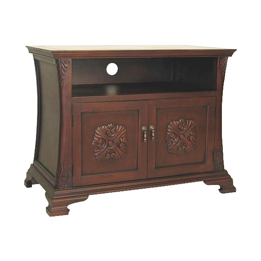 Wayborn Furniture Medallion Brown Rectangular Television Cabinet