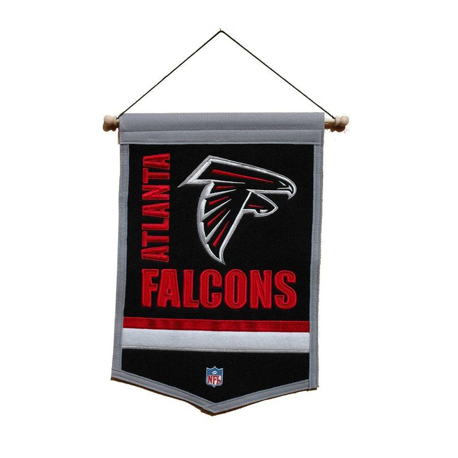 Winning Streak 1.5-ft W x 1-ft H Embroidered Atlanta Falcons Banner