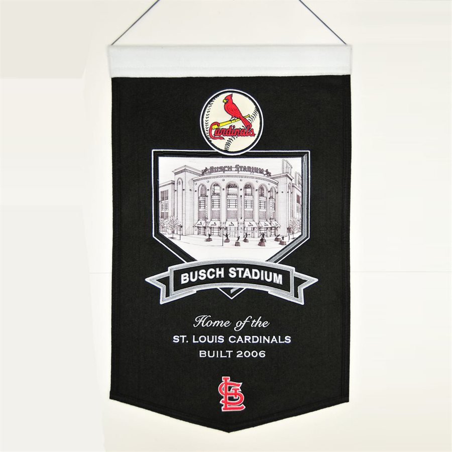 Winning Streak 1.25-ft W x 1.67-ft H Embroidered St. Louis Cardinals Banner