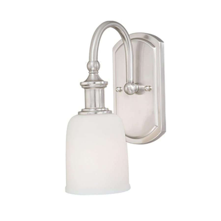 Shop Cascadia Lighting Elliot Polished Nickel Bathroom Vanity Light At
