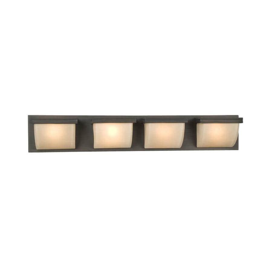 Galaxy 4-Light Melbourne Oil-Rubbed Bronze Standard Bathroom Vanity Light