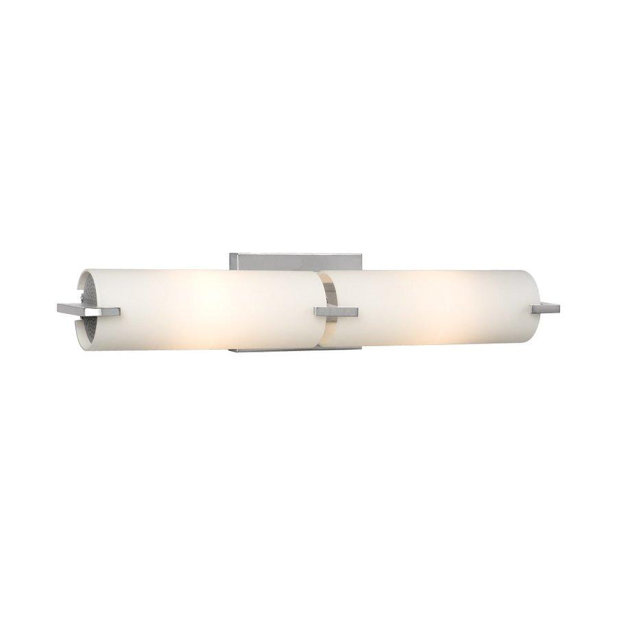 Galaxy 1-Light Kona Chrome Standard Bathroom Vanity Light