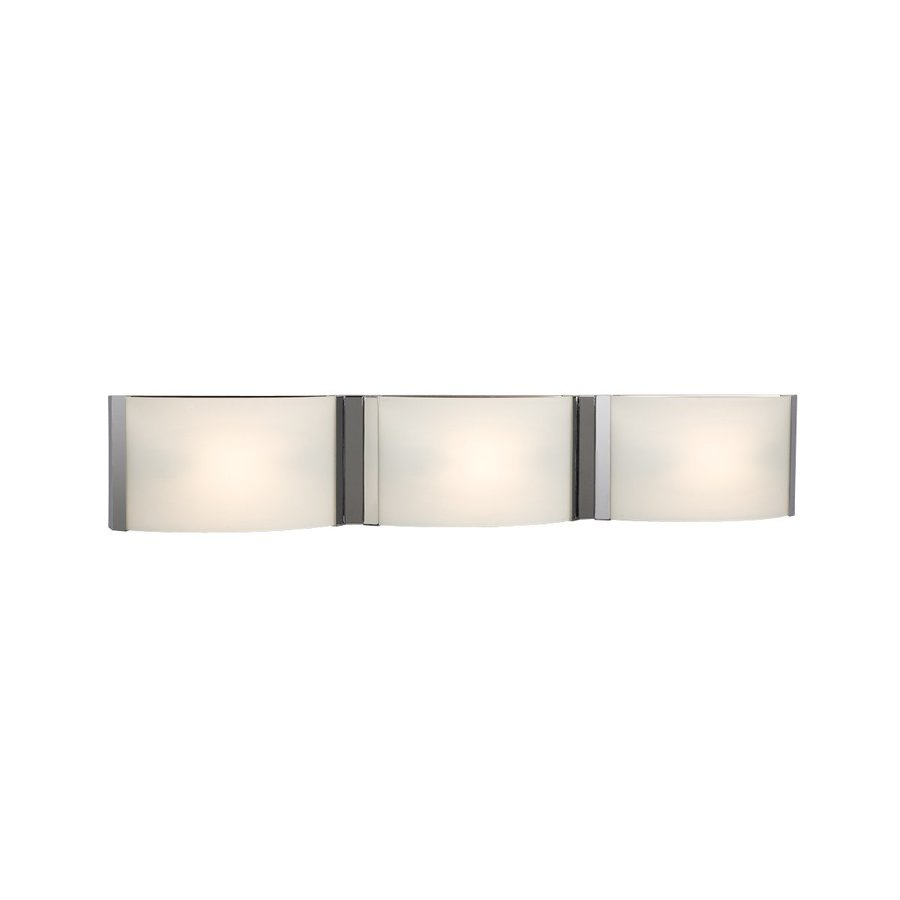 Bathroom Vanity Lights Not Working : Shop Galaxy 3-Light Triton Chrome Standard Bathroom Vanity Light at Lowes.com