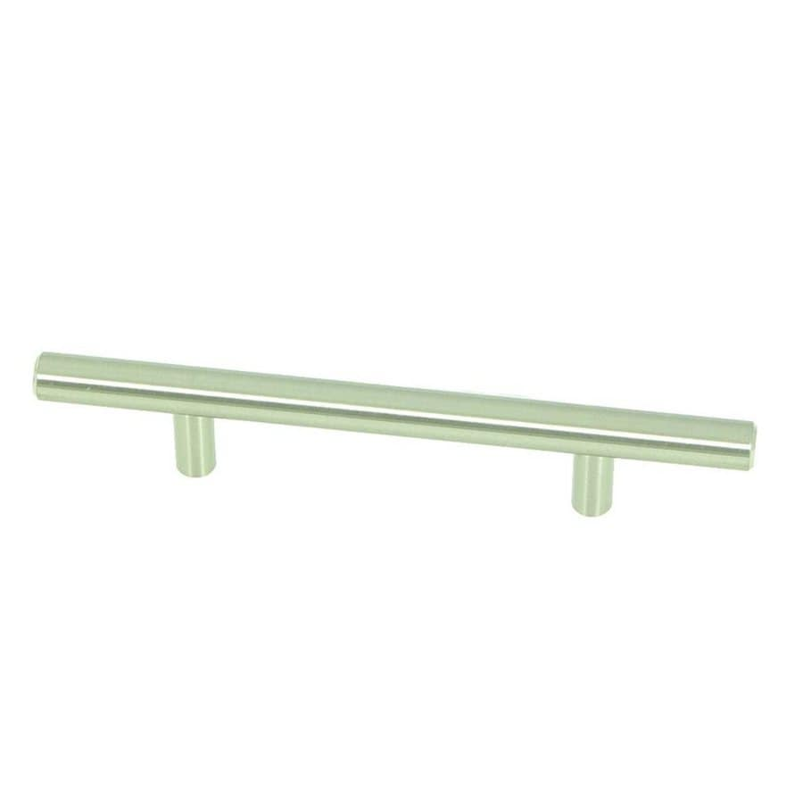 Stone Mill Hardware 3-3/4-in Center-to-Center Stainless Steel Stockholm Bar Cabinet Pull