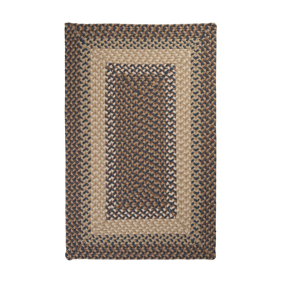 Colonial Mills Tiburon 24-in x 36-in Rectangular Multicolor Transitional Accent Rug