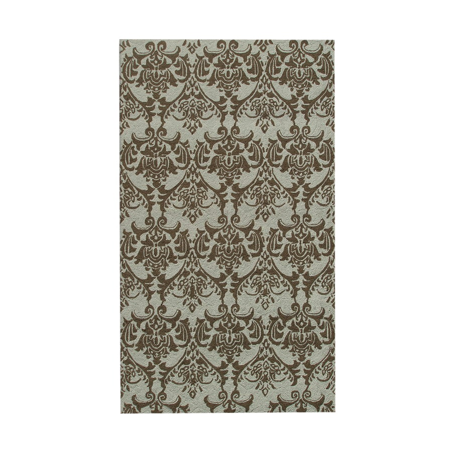 The Rug Market Resort 5-ft x 8-ft Rectangular Multicolor Transitional Indoor/Outdoor Area Rug