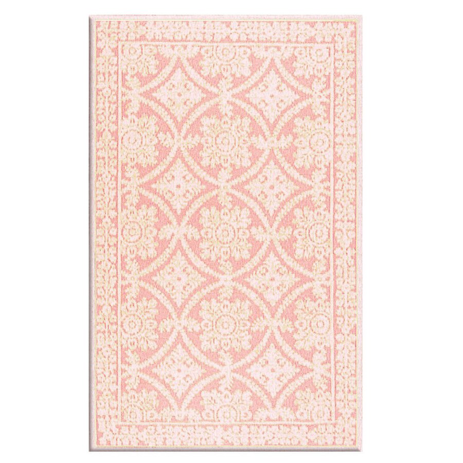 The Rug Market Romantic Lace Rosa Rectangular Indoor Hooked Area Rug (Common: 8 x 10; Actual: 93-in W x 117-in L)