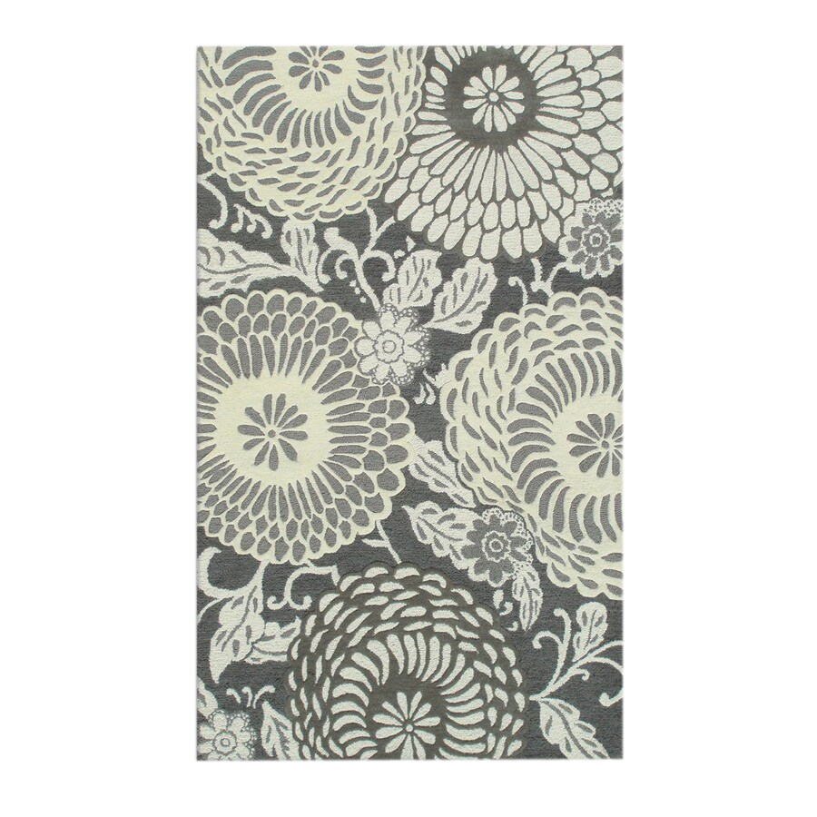 The Rug Market Resort 8-ft x 11-ft Rectangular Multicolor Floral Area Rug