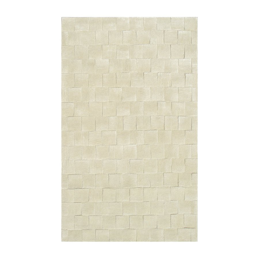 The Rug Market Shabati Cream Rectangular Tufted Area Rug (Common: 10 x 13; Actual: 120-in W x 156-in L)