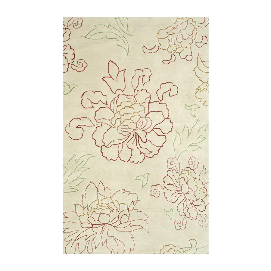 The Rug Market Frisco 8-ft x 10-ft Rectangular Multicolor Floral Area Rug