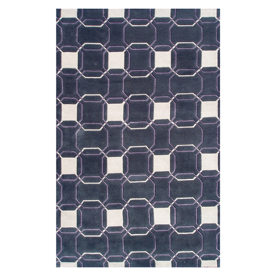 The Rug Market Rexford Gray Rectangular Indoor Tufted Area Rug (Common: 10 x 13; Actual: 120-in W x 156-in L)