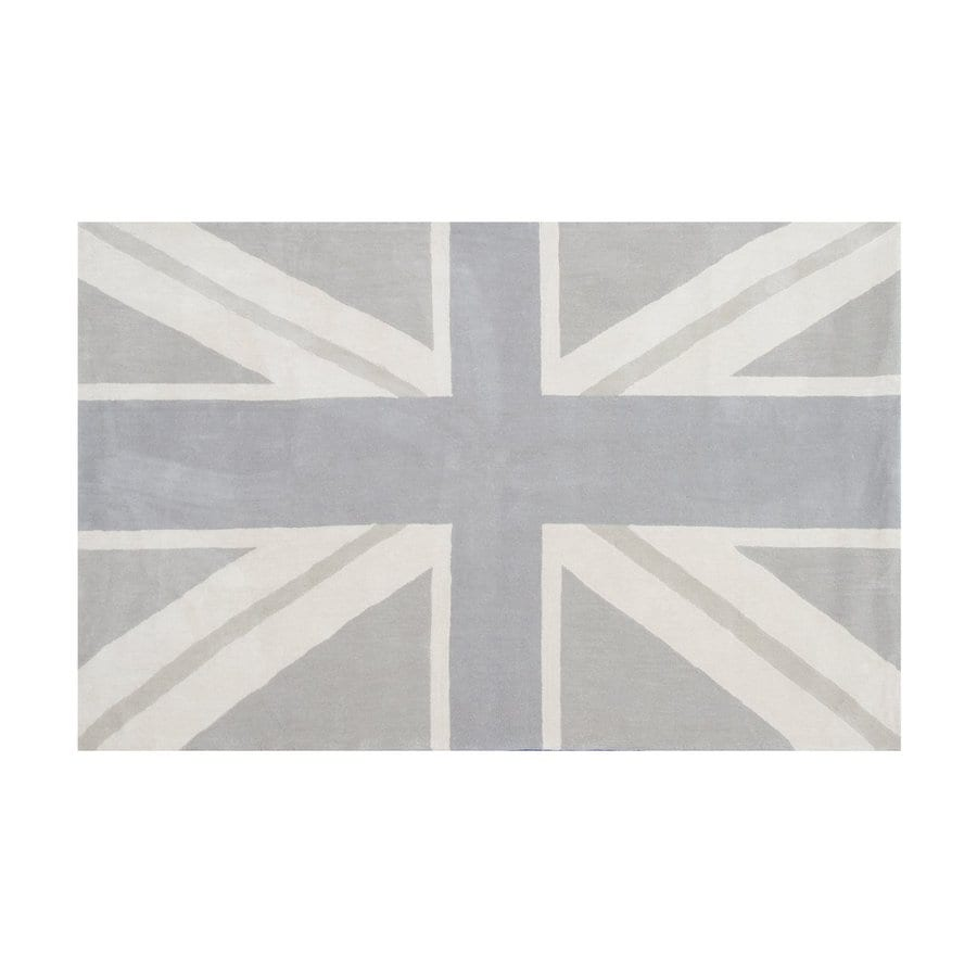 The Rug Market Ecconox Beige Rectangular Tufted Novelty Area Rug (Common: 5 x 8; Actual: 60-in W x 96-in L)