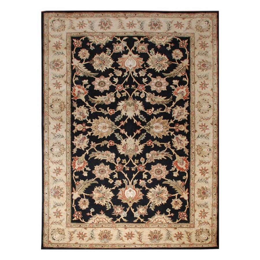 Jaipur Mythos Rectangular Multicolor Transitional Wool Accent Rug (Actual: 24-in x 36-in)