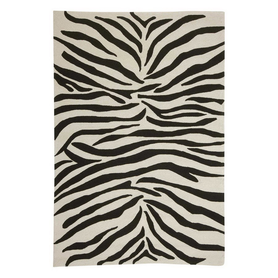 Jaipur Coastal Living I-O 24-in x 36-in Rectangular Multicolor Transitional Accent Rug
