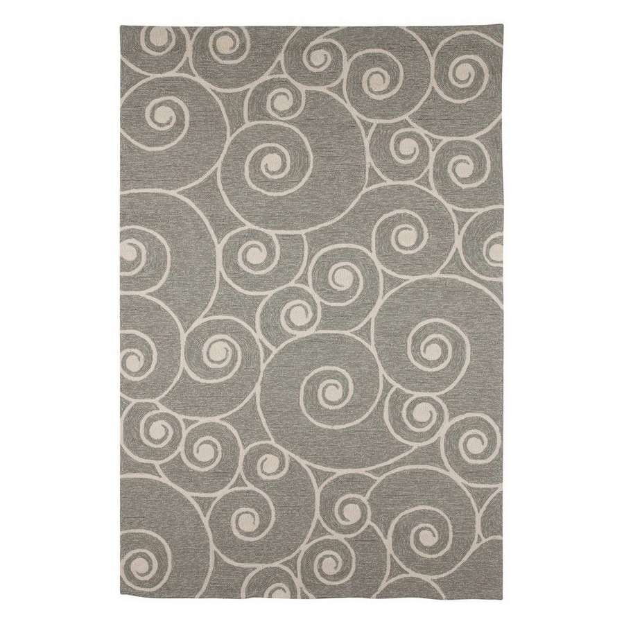 Jaipur Coastal Living I-O Rectangular Multicolor Transitional Accent Rug (Actual: 24-in x 36-in)
