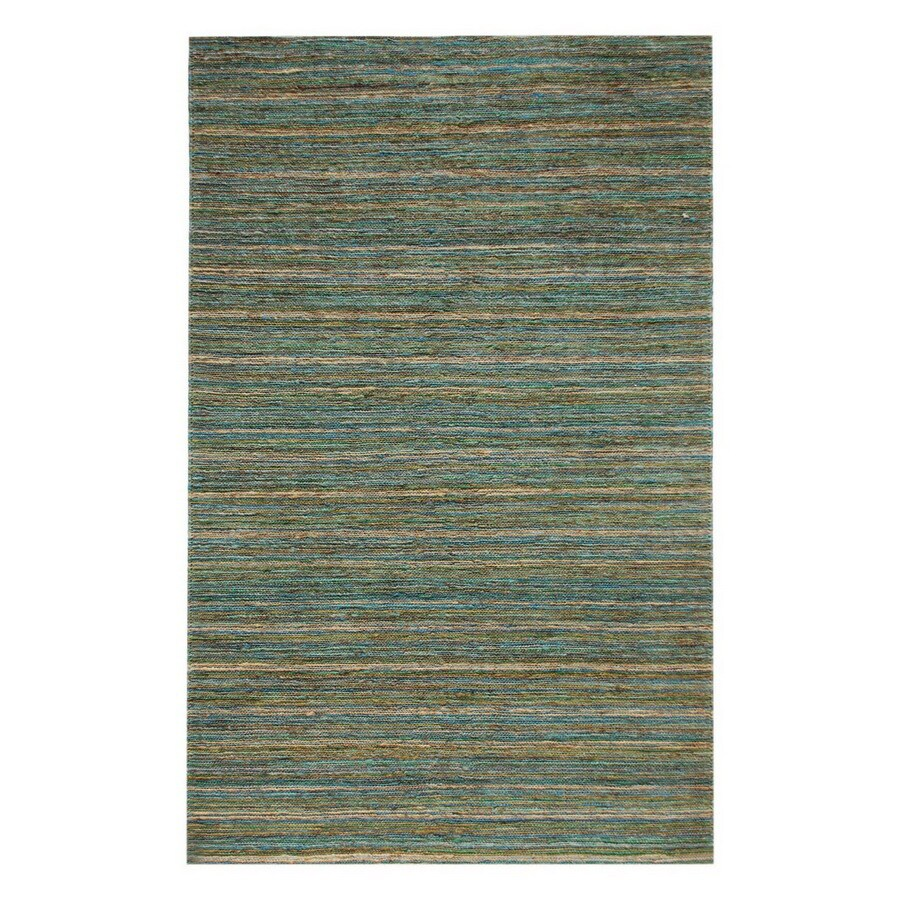 Jaipur Hula Rectangular Blue Solid Accent Rug (Actual: 24-in x 36-in)