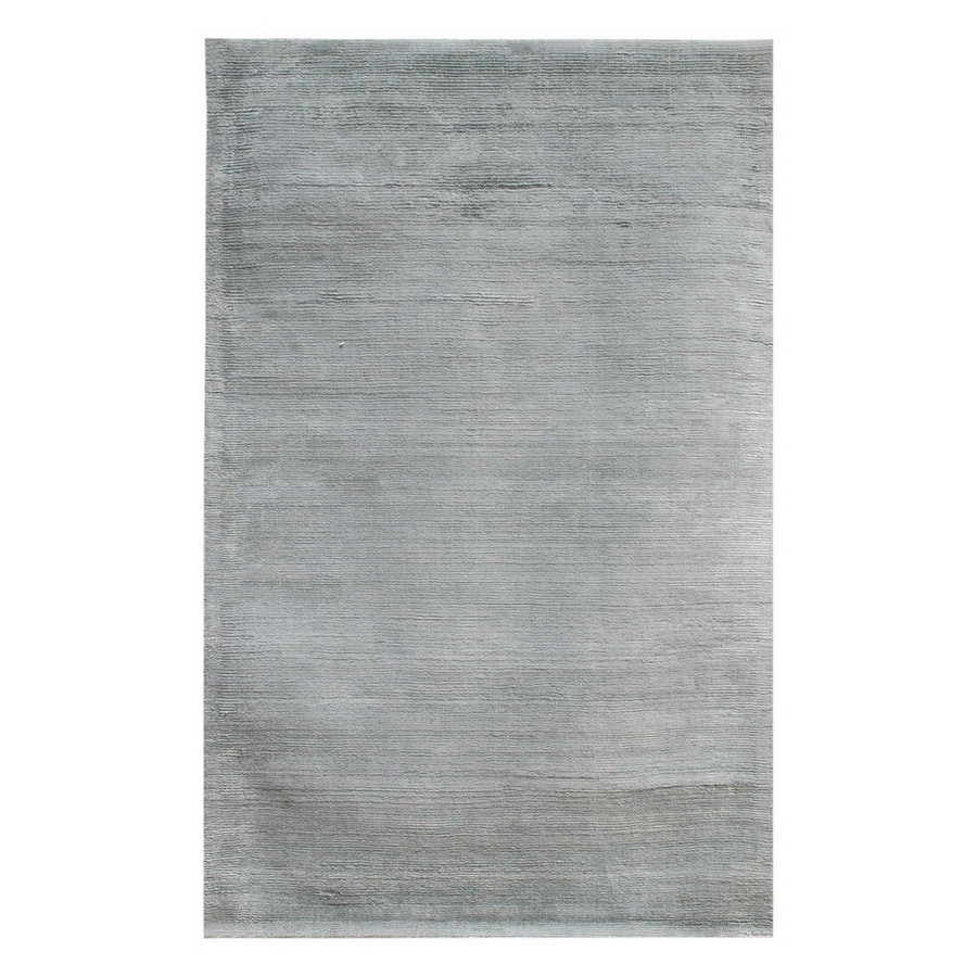 Jaipur Konstrukt Rectangular Solid Wool Accent Rug (Actual: 24-in x 36-in)
