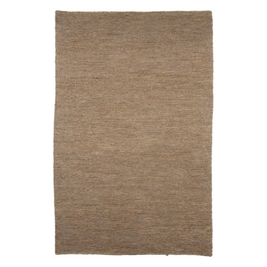 Jaipur Hula Rectangular Gray Solid Area Rug (Actual: 8-ft x 10-ft)