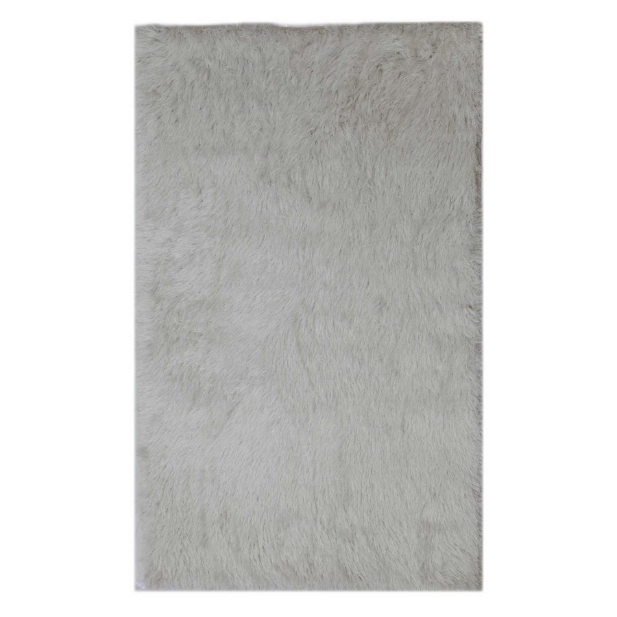 Jaipur Verve Rectangular White Solid Area Rug (Actual: 8-ft x 10-ft)