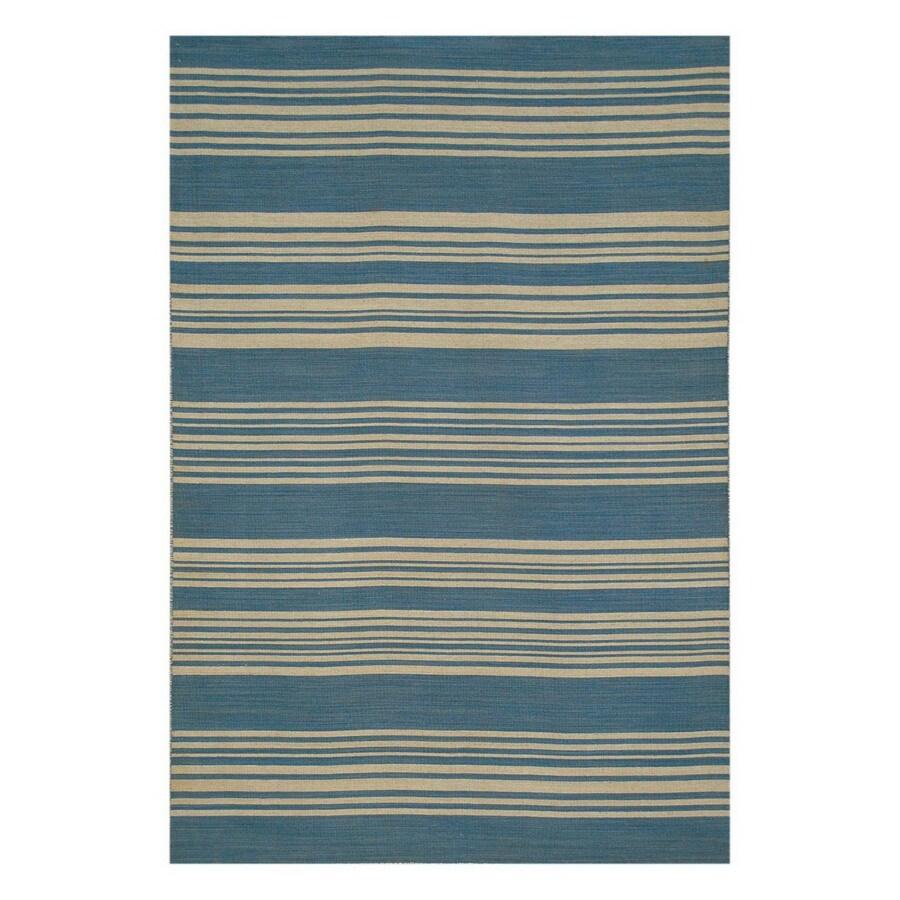 Jaipur Pura Vida Rectangular Multicolor Transitional Wool Area Rug (Actual: 9-ft x 12-ft)