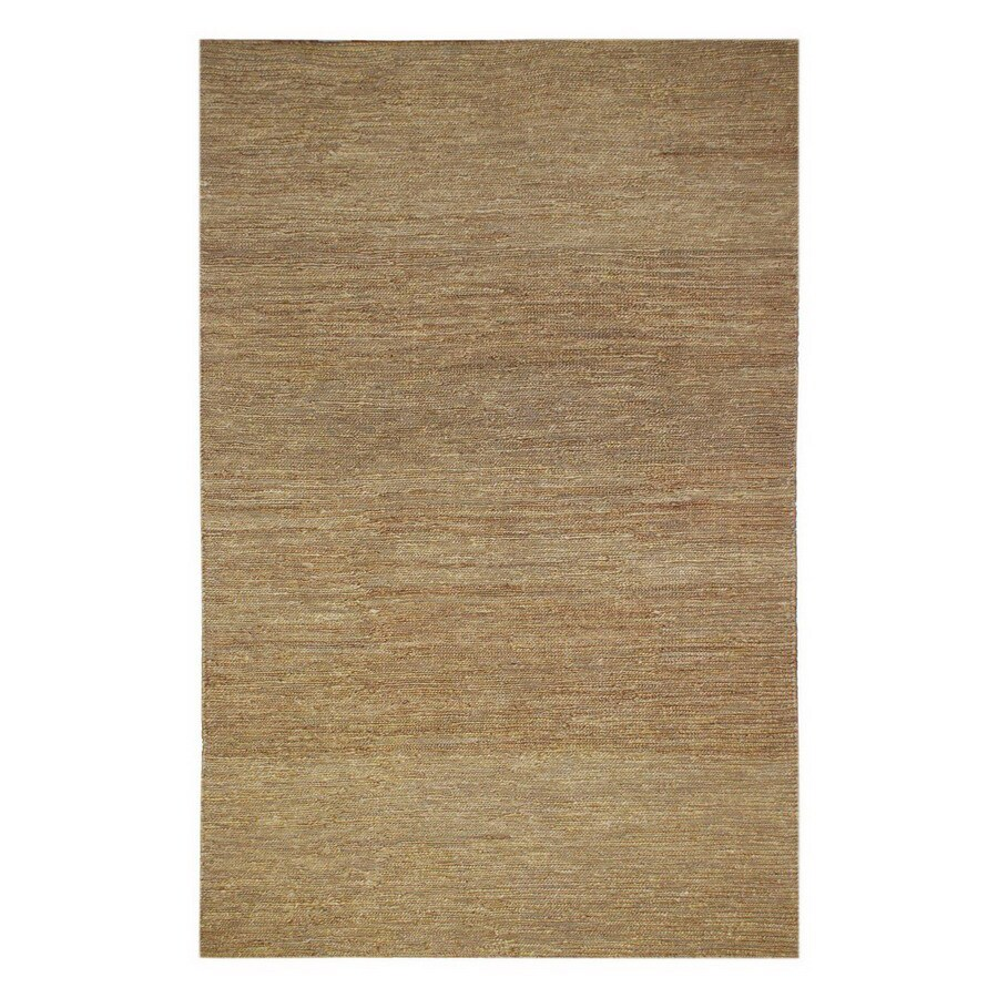 Jaipur Hula 3-ft 6-in x 5-ft 6-in Rectangular Yellow Solid Area Rug