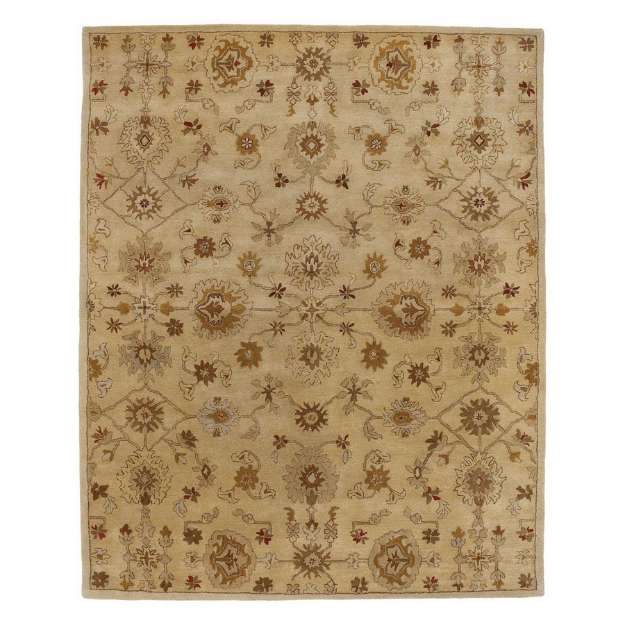 Jaipur Poeme 9-ft 6-in x 13-ft 6-in Rectangular Multicolor Transitional Area Rug