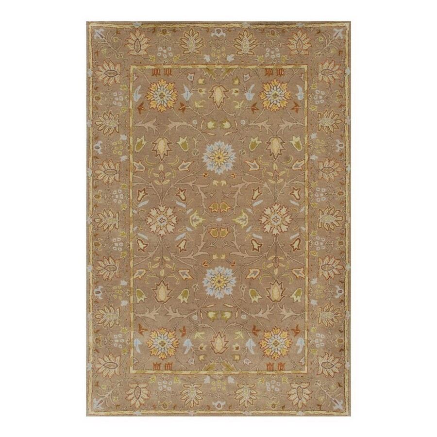 Jaipur Poeme 9-ft 6-in x 13-ft 6-in Rectangular Multicolor Floral Area Rug