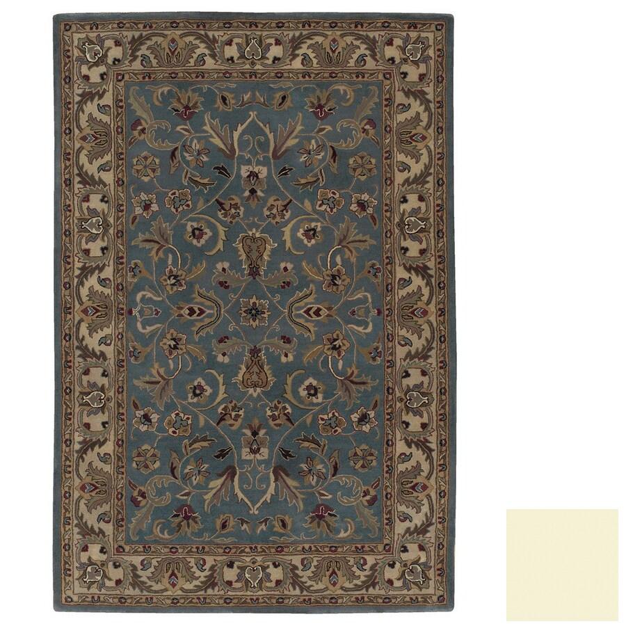 Kaleen Mystical Garden Rectangular Multicolor Transitional Wool Area Rug (Common: 5-ft x 8-ft; Actual: 5-ft x 7-ft 9-in)