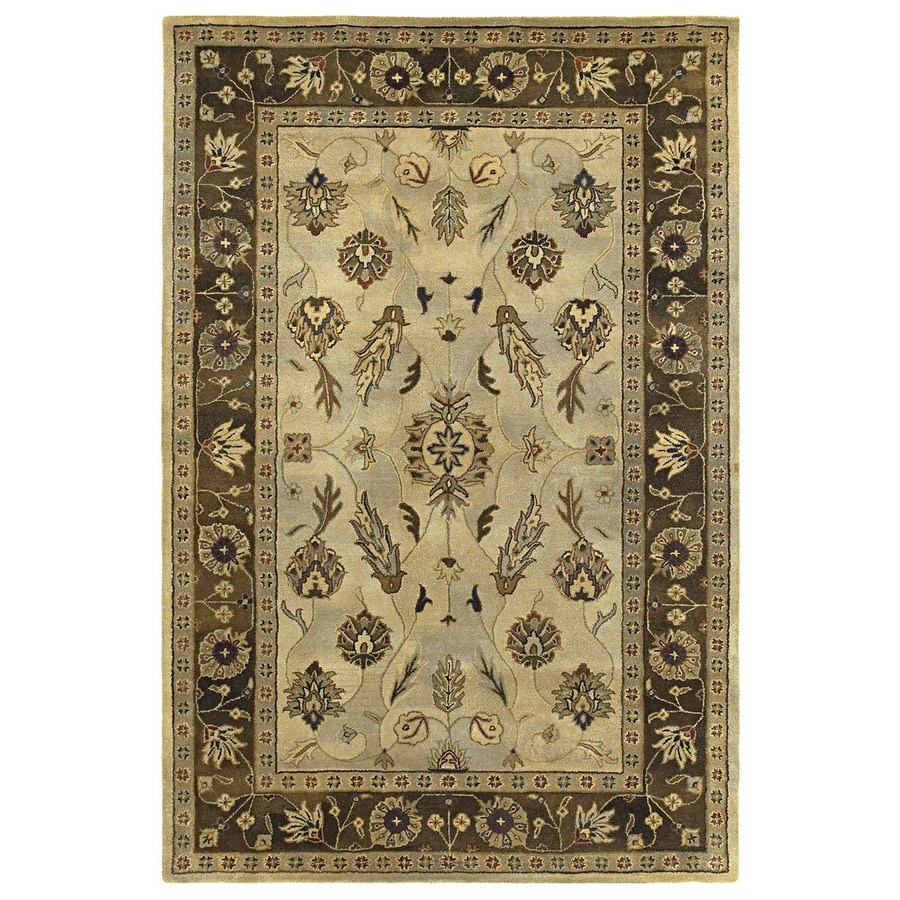 Kaleen Presidential Picks 7-ft 9-in x 7-ft 9-in Round Multicolor Transitional Wool Area Rug