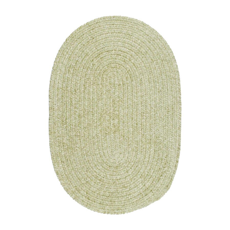 Colonial Mills Spring Meadow Square Green Solid Indoor/Outdoor Area Rug (Common: 8-ft x 8-ft; Actual: 8-ft x 8-ft)