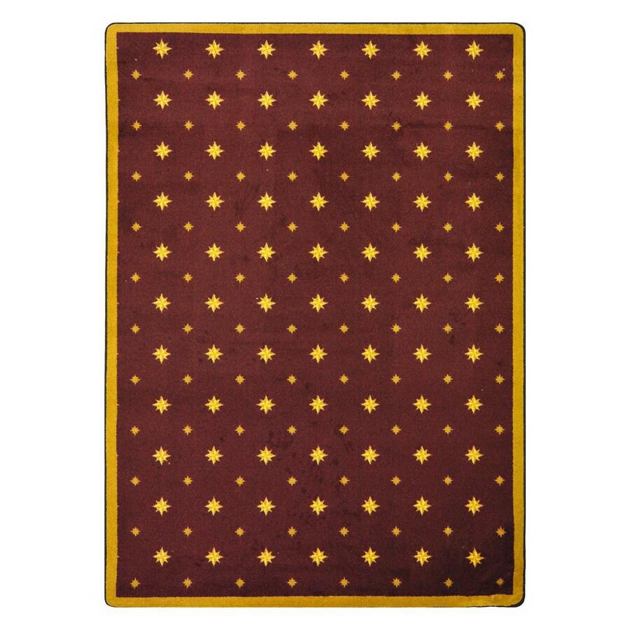 Joy Carpets Walk Of Fame 13-ft 2-in x 10-ft 9-in Rectangular Multicolor Transitional Area Rug