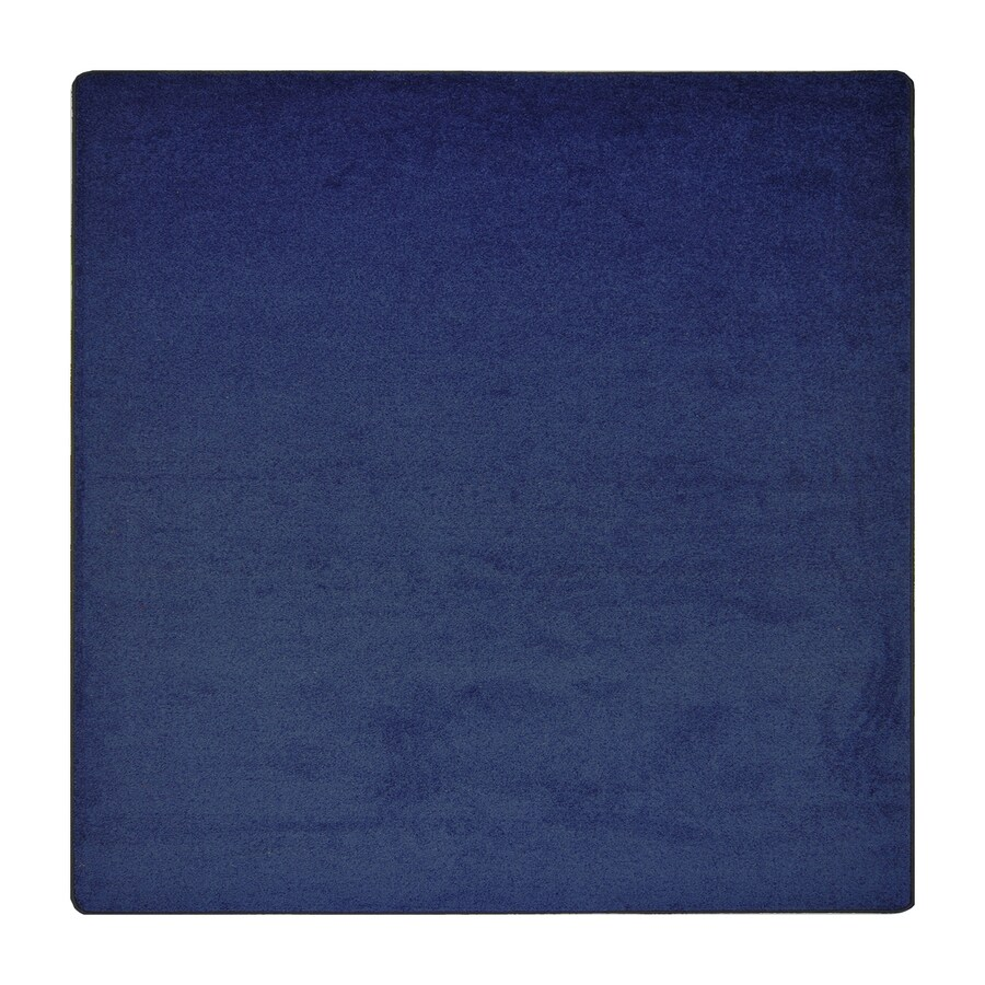 Joy Carpets Endurance Midnight Sky Square Indoor Tufted Area Rug (Common: 6 x 6; Actual: 72-in W x 72-in L)