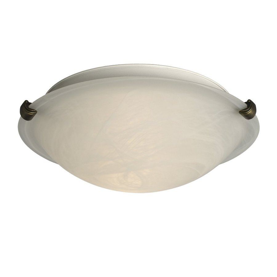 Galaxy Ofelia 12.25-in W Oil-Rubbed Bronze Ceiling Flush Mount Light