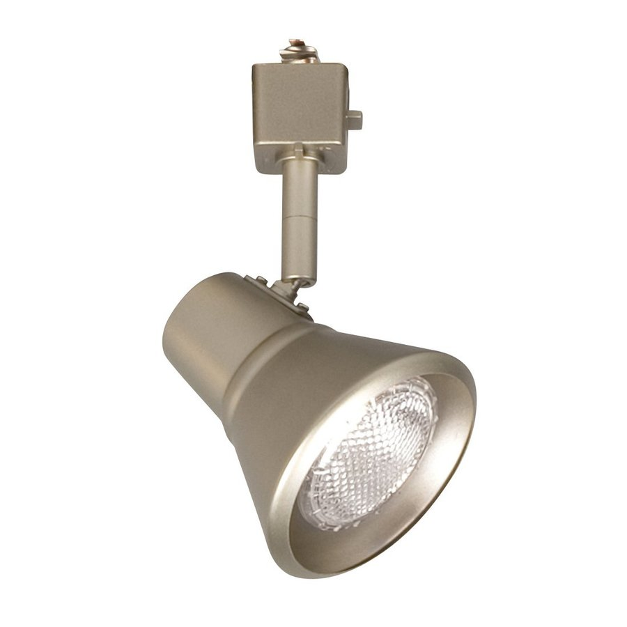Galaxy 1-Light Dimmable Pewter Step Linear Track Lighting Head