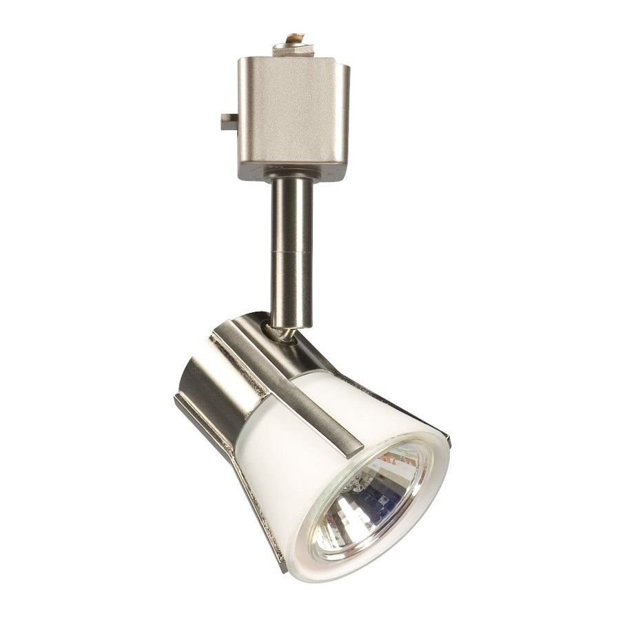 Galaxy 1-Light Dimmable Brushed Nickel Flat Back Linear Track Lighting Head