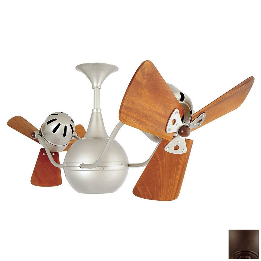 Matthews 13-in Vent Bettina Bronze Ceiling Fan
