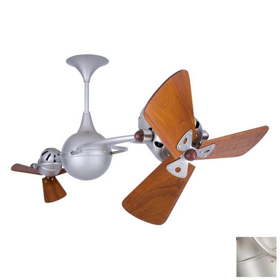 Matthews 16-in Italo Ventania Brushed Nickel Ceiling Fan