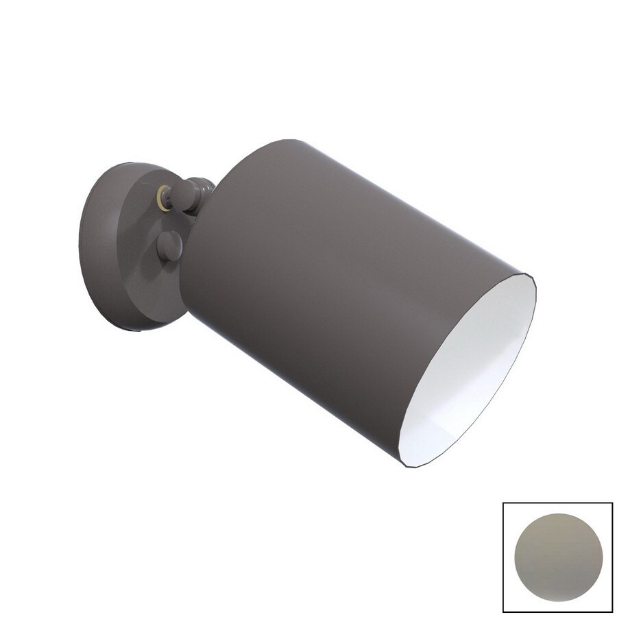 Remcraft Lighting Cylinders 5.875-in W Grey Glass Semi-Flush Mount Light