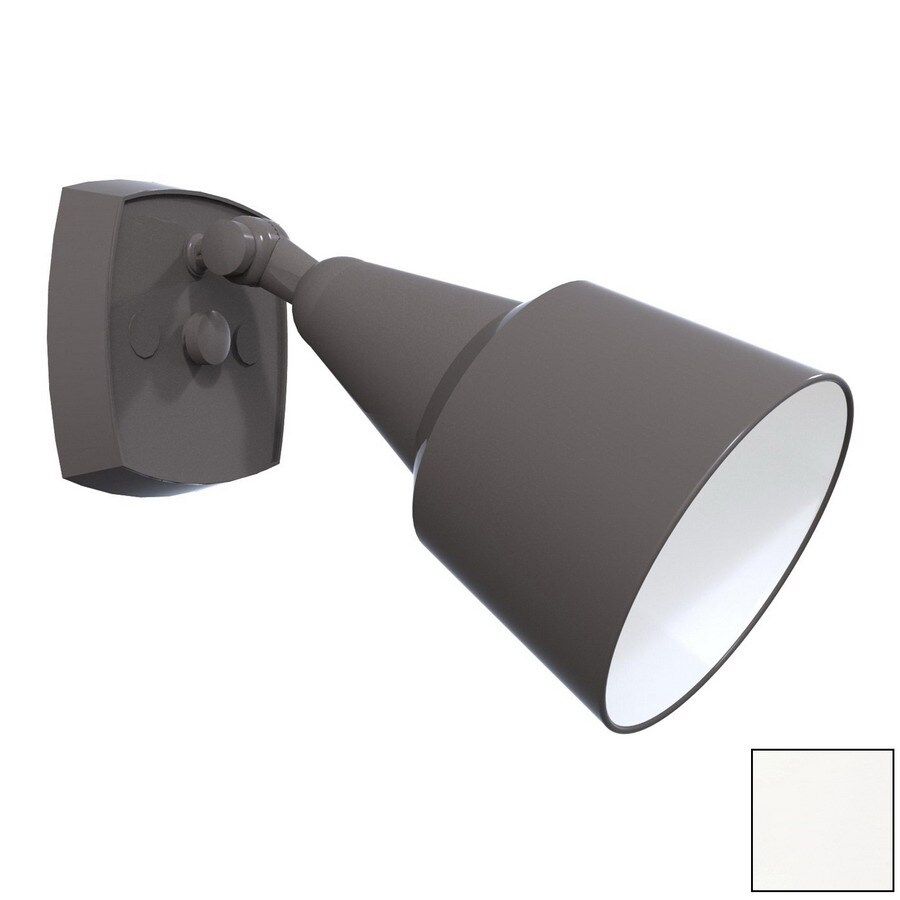 Remcraft Lighting White Outdoor Flush Mount Light