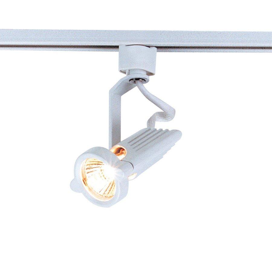 Nora Lighting Capella 1-Light White Gimbal Linear Track Lighting Head