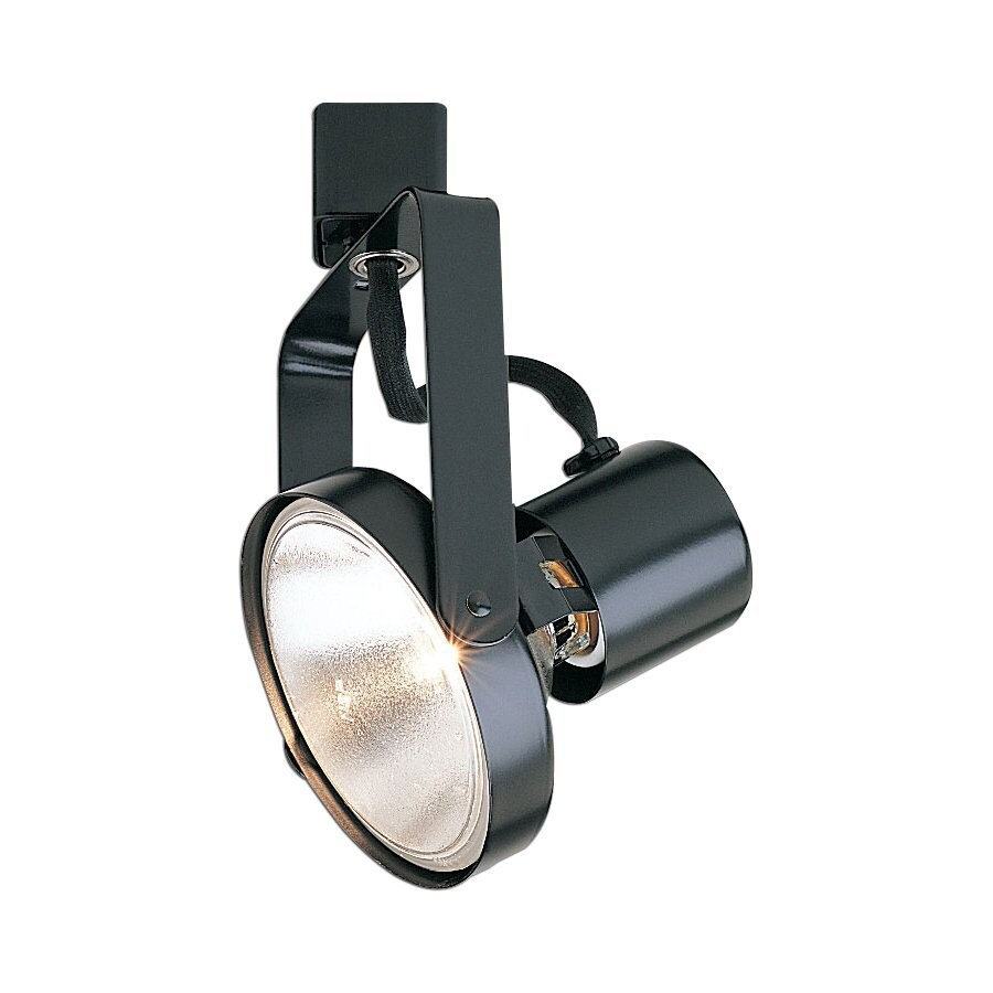 Nora Lighting 1-Light Black Gimbal Linear Track Lighting Head