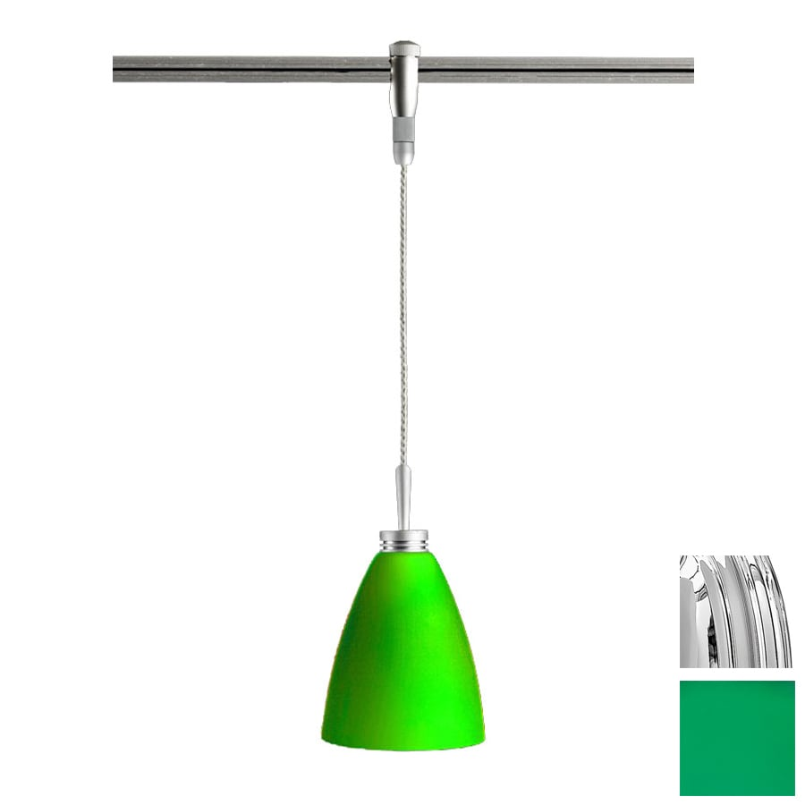 Flexible Track Lighting With Hanging Pendants: Shop Focalor Chrome Flexible Track Light Pendant At Lowes.com