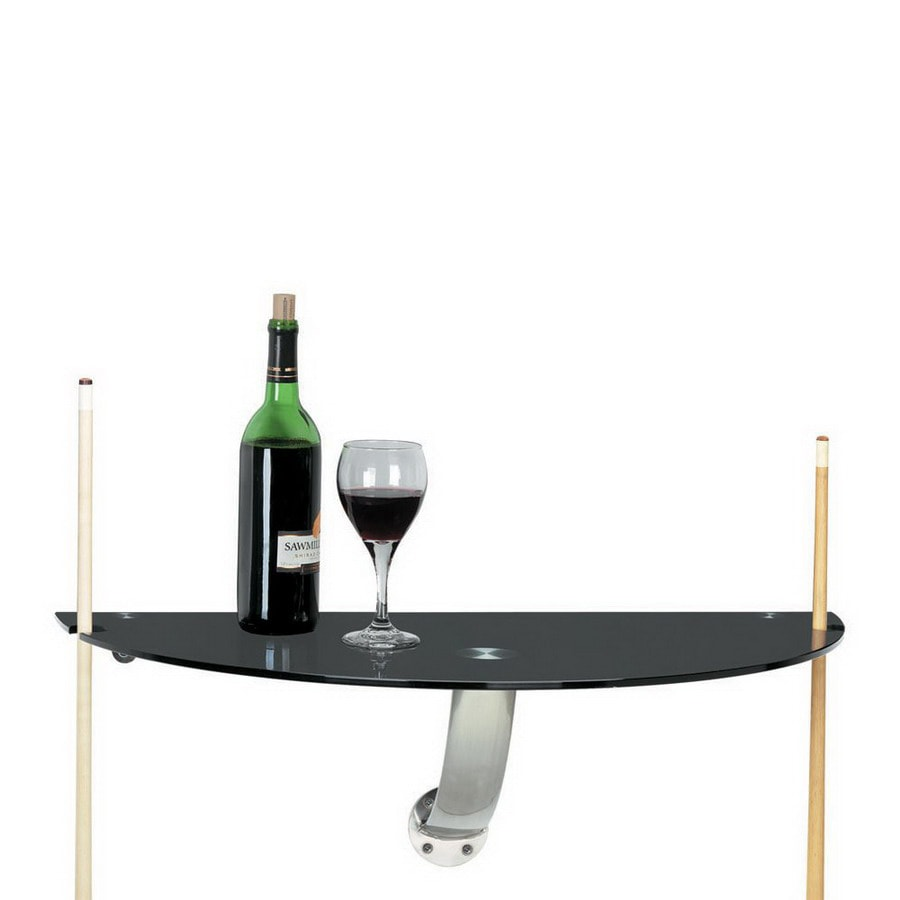 Gameroom Products Stainless Steel Half Moon Dining Table At
